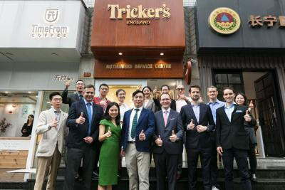 Tricker's Shoes in China Opens in Shanghai