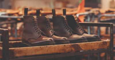 Tricker's 190th Anniversary Tramping Boot