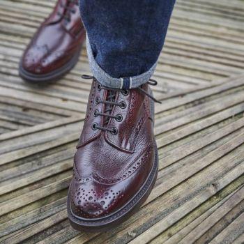 Kudu Leather Tricker's Boot