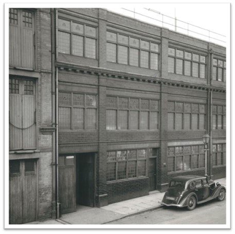 Tricker's factory, Northampton, England